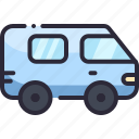car, minivan, transport, van, vehicle icon