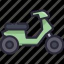 matic, motor, transport, transportation, vehicle icon