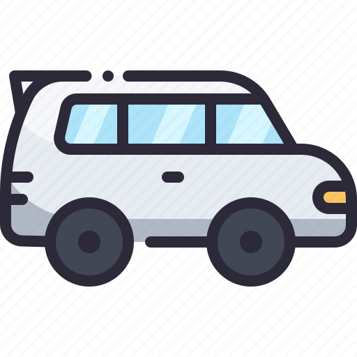 auto, car, hatchback, transport, vehicle icon