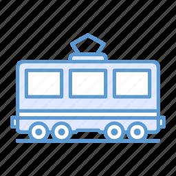 passenger, railway, railway carriage, train icon
