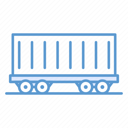 cargo container, cargo vehicle, container, railway carriage, shipping, vehicle icon