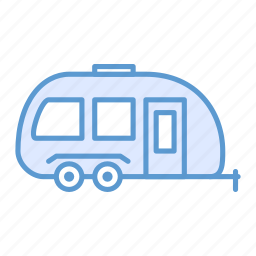 dwelling, shipping, trailer, transport icon