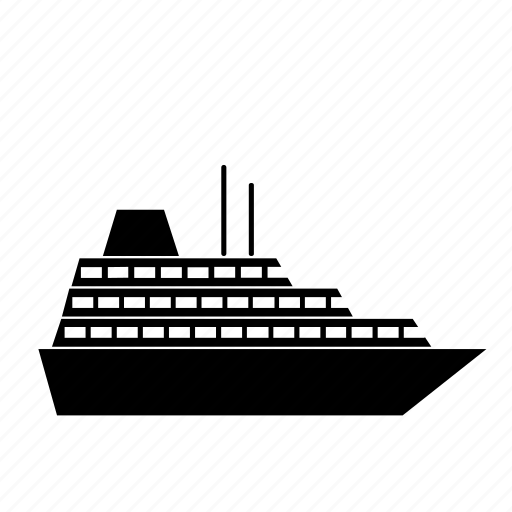 boat, cruise, ocean, sail, sea, seaways, ship icon