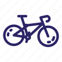 bicycle, bike, cycle, sport, transportation, travel, wheel icon