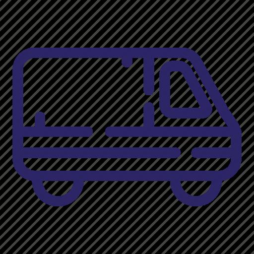 car, delivery, transport, transportation, truck, van, vehicle icon