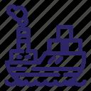boat, cargo, sea, ship, shipping, transport, transportation