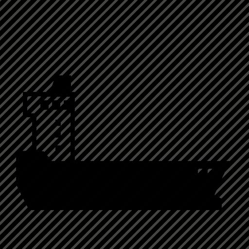 cargo, empty, navel, sea, ship, trasnportation, vessel icon