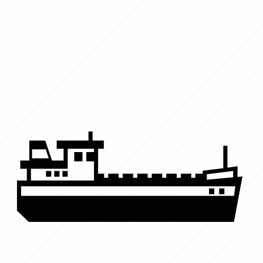 bulk, carrier, inland, river, shipping, transport, transportation icon
