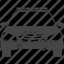 car, cop, patrol, police, siren, transport, transportation icon