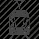 electric, railway, train, tram, transport, transportation, travel icon