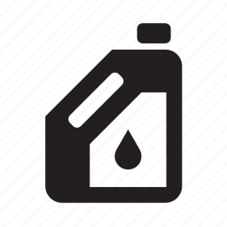 bottle, car, container, garage, oil, repair shop, transport icon