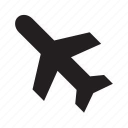airplane, airport, plane, transport, transportation, travel icon