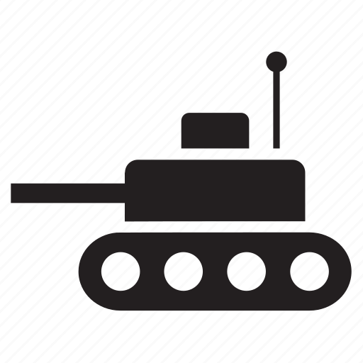 armed vehicle, army, military, tank, transport, transportation, war icon
