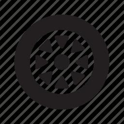 car, tire, transport, transportation, travel, tyre, wheel icon