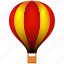 aerostat, air, balloon, flight, fly icon
