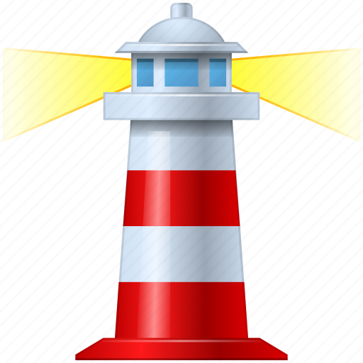 course, home, house, light, light house, light-house, lighthouse, navigate, navigation, navigator, sea, target, torch, tower, travel, valid icon