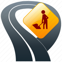 action, construction, direction sign, functioning, in progress, job, labor, operation, proceedings, road running, road sign, roads, roadworks, run, scheduled, service, task, tasks, traffic sign, under, under construction, work, working, works icon
