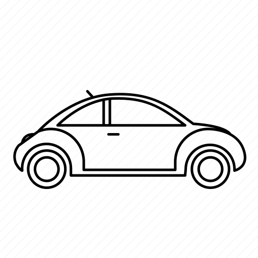 beetle, car, commute, vehicle icon