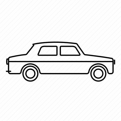 car, commute, india, kalipili, mumbai, taxi icon