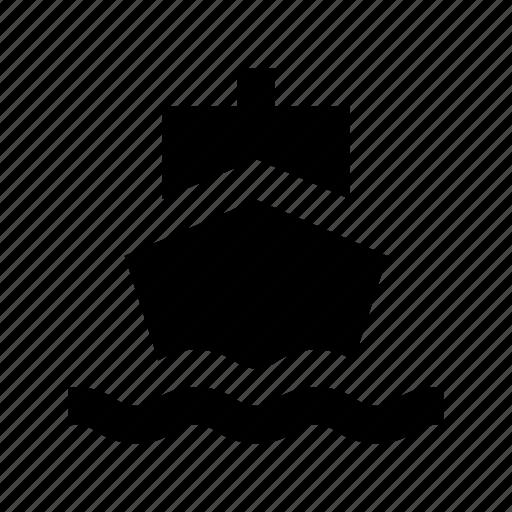 cruise, merchant ship, sailboat, ship, yacht icon