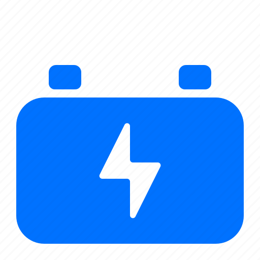 battery, car, transportation, vehicle icon