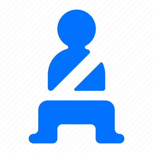 belt, car, safety, seat icon