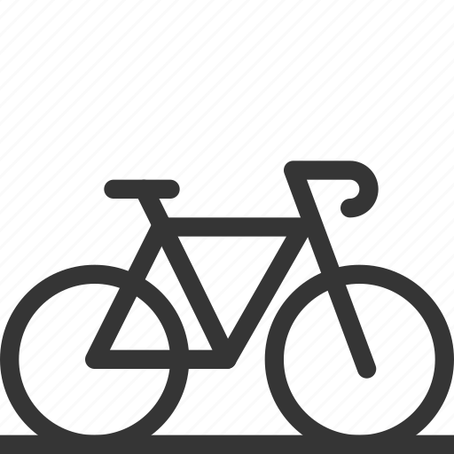 bicycle, bike, city, cycling, healthy, transport icon