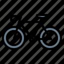bicycle, bike, transport, transportation icon