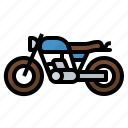 bike, motorcycle, transport, travel icon