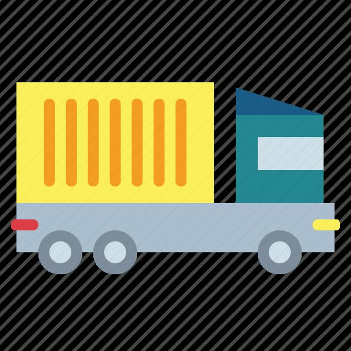 automobile, lorry, truck icon