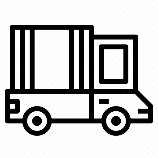 delivery, truck, trucks icon