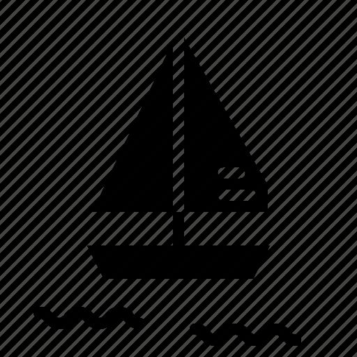 boat, sailing, ship icon