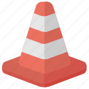 road barrier, road safety cone, traffic barrier, traffic cone, traffic control icon