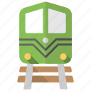 retro train, train, train on track, transport, traveling icon