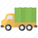 cargo truck, commercial car, delivery truck, delivery van, transport icon