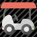 golf course, golf car, golf cart, golf vehicle, golf club icon