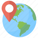 global location, global positioning system, globe and pointer, gps, gps navigation icon