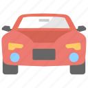cabriolet, car, convertible, transport, vehicle icon