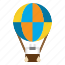 air, balloon, flight, fly, hot, transport icon