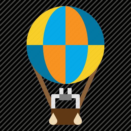 air, balloon, flight, fly, hot, transport icon