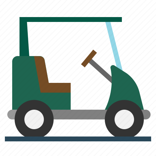 automobile, cart, golf, transport, vehicle icon