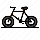 bicycle, bike, mountain, transportation icon