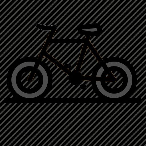 bicycle, bike, mountain, transportation icon
