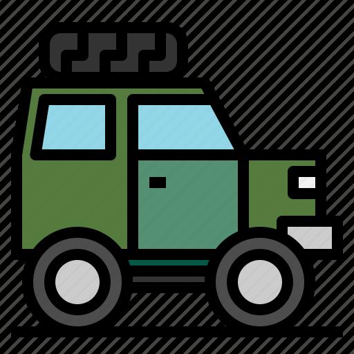 off, road, suv, transportation icon