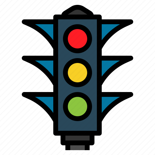 light, traffic, transportation icon
