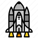 launch, rocket, ship, space, transport, transportation icon