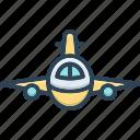 aeroplane, aircraft, flying, passenger, plan, transport, transportation