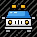 cop, patrol police car, police car, police transport, police vehicle, traffic police car icon