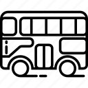 2, bus, floor, two icon