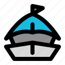 access, boat, ship, transport, transportation, travel, vehicle icon